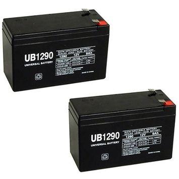 12V 9Ah Battery REPL. for APC Back-UPS XS1000,RBC32,33 -
