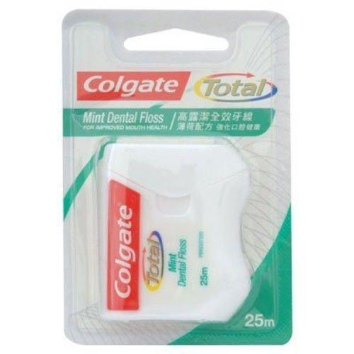 Colgate Total Mint Dental Floss, 25m.