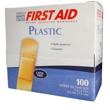 First Aid Plastic Adhesive Bandages 1