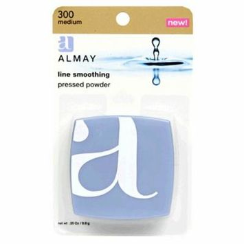 Almay Line Smoothing Pressed Powder, Medium 300, 0.35-Ounce Packages (Pack of 2)