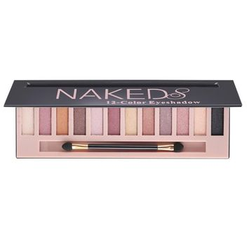 Cosmetic Makeup Shimmer Matte Naked 12 Colors Eyeshadow Palette Sombras [C]