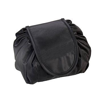 VPAL Lazy Makeup Bag Toiletry Cosmetic Bag Drawstring Makeup Storage Organizer Travel Case for Women Girls