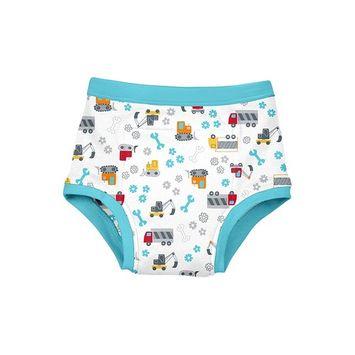 Reusable Absorbent Training Underwear-Aqua Construction-4T