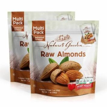 Nature's Garden, Raw Almonds, 7 Oz