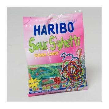 HARIBO SOUR S'GHETTI 4 OZ , Case Pack of 12