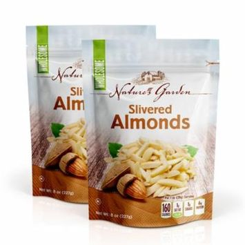 NATURE'S GARDEN ALMONDS SLIVERED