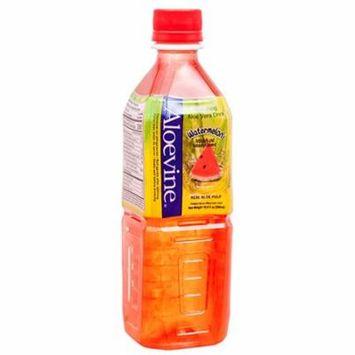 New 374373 Aloevine 16.9 Oz Watermelon (20-Pack) Juice Cheap Wholesale Discount Bulk Beverages Juice