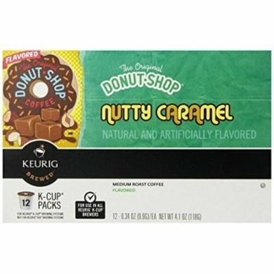 Keurig, The Original Donut Shop, Nutty Caramel, K-Cup Packs, 72 Count , New, Fre