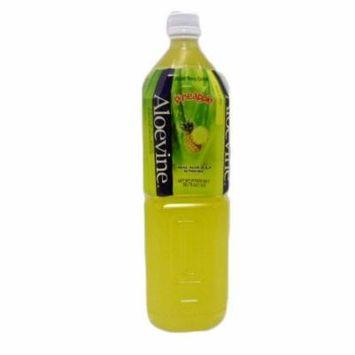 New 802629 Aloevine 1.5 Ltr Pineapple Drink (12-Pack) Juice Cheap Wholesale Discount Bulk Beverages Juice