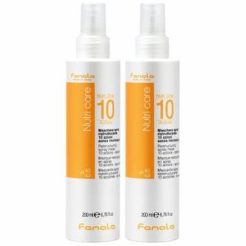 Fanola Nutri Care Nutri-One 10 Actions Restructuring Spray 200ml / 6.76oz (Pack of 2)