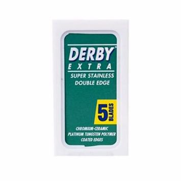 Derby Extra Standard Double Edge Safety Razor Blades, 5 Count