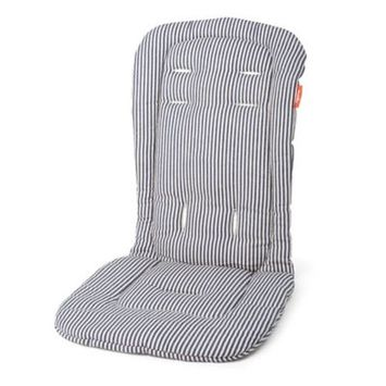 Austlen Baby Co. Austlen Baby Entourage Second Seat Liner Navy Stripe
