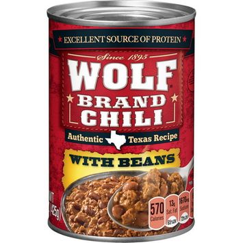(Price/Case)Orville Redenbachers 1490044202 Wolf Chili With Beans