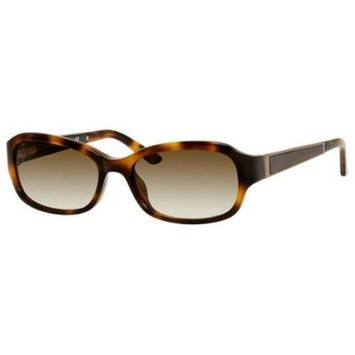 SAKS FIFTH AVENUE Sunglasses 79S 01H8 Light Tortoise 53MM [eyewear_frame_size: eyewear_frame_size-53]