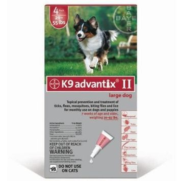For Dogs 20-55 Lbs. 4 Month Supply - 784002