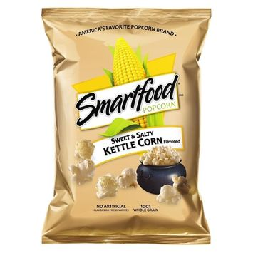 Smartfood Sweet & Salty Kettle Corn Flavored Popcorn, 1.5 Ounce (Pack of 64)