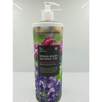 E/Z Therapy Stress Relief Lavender Shower Gel 32 fl oz