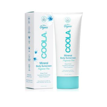 COOLA Organic Suncare Collection Mineral Body Organic Sunscreen Lotion SPF 50