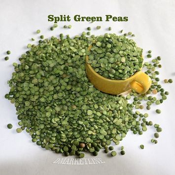 5 LB Of Split Green Peas Non-GMO Bulk Organic Chicharos Arveja