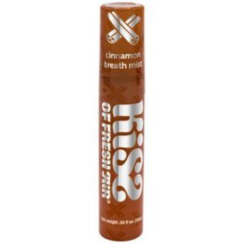 Breath Mist - CINNMAON (0.34 Fluid Ounces Spray) by Kiss of Fresh Air at the Vitamin Shoppe