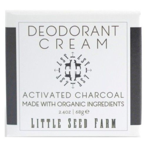 Little Seed Farm Activated Charcoal Deodorant Cream - 2.4oz