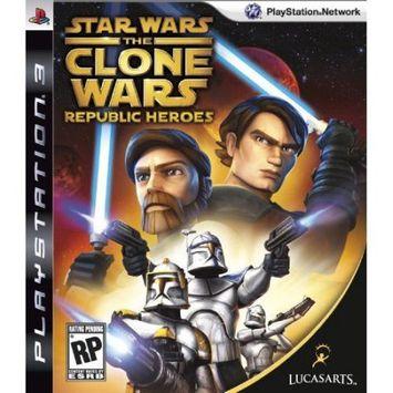 Lucasarts Entertainment Company Star Wars: Clone Wars Republic Heroes Playstation3 Game LUCASARTS