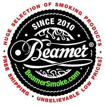 RaspBerry Flavor 100% Tobacco and 100% Nicotine FREE. Ultra Premium 50G Beamer Herbal Shisha Molasses + Beamer Smoke Limited Edition Sticker