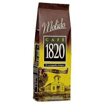 Cafe 1820 Costa Rican Ground Coffee, 2.2 lb./1 Kilo [Ground]