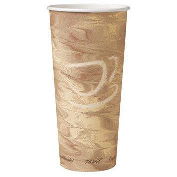 Solo 424MSN-0029 24 oz Mistique SSP Paper Hot Cup (Case of 500)
