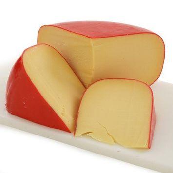 Idea Gourmet Foods Dutch Gouda Red Wax Wedges