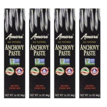 Amore - Italian Anchovy Paste, (4)- 1.6 oz. Tubes