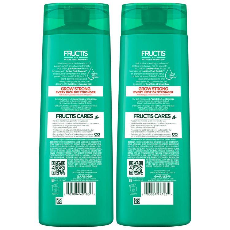 garnier® fructis® grow strong shampoo