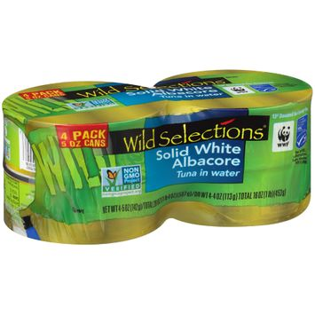 Wild Selections® Solid White Albacore Tuna in Water
