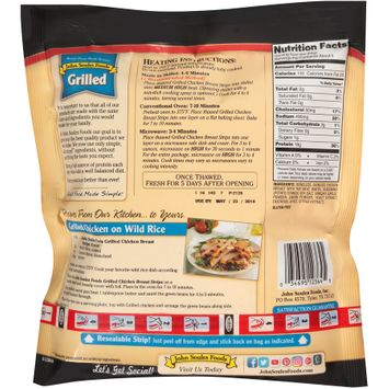 john soules foods® grilled chicken breast strips