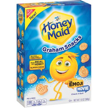 Nabisco Honey Maid The Emoji Movie Graham Snacks