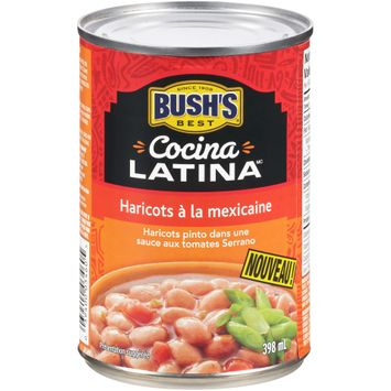 Bush's Best® Cocina Latina™ Mexican Style Beans 398mL Can