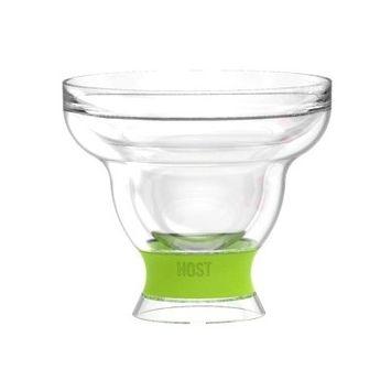 Host Margarita Freeze 12 oz. Plastic Cocktail Glasses Color: Green