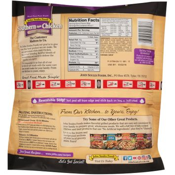 john soules foods® lightly breaded southern style chicken