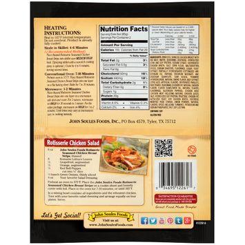 john soules foods® rotisserie seasoned chicken breast strips