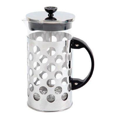 Mr. Coffee(R) Polka Dot 32oz. Brew Coffee Press 32 Ounce, Silver