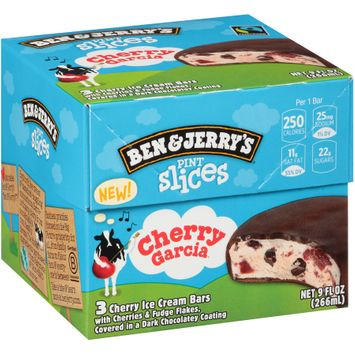 Ben & Jerry's® Pint Slices Cherry Garcia® Ice Cream Bars