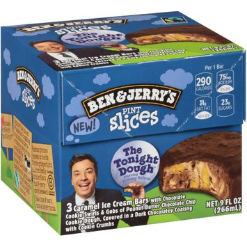 Ben & Jerry's® Pint Slices The Tonight Dough™ Ice Cream Bars 3 ct Box