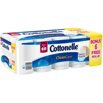 Cottonelle® Ultra Comfort Care® Double Roll 1-Ply Toilet Paper 30 ct Pack