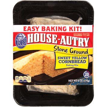 House-Autry® Stone Ground Sweet Yellow Cornbread Baking Mix