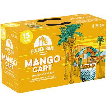 golden road brewing mango cart mango wheat ale 1