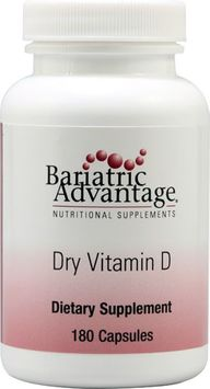 Bariatric Advantage Dry Vitamin D 180 Capsules
