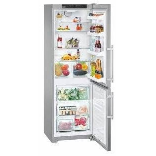Liebherr CS1200 11.4 Cu. Ft. Stainless Steel Counter Depth Bottom Freezer Refrigerator - Right Hinge - Energy Star