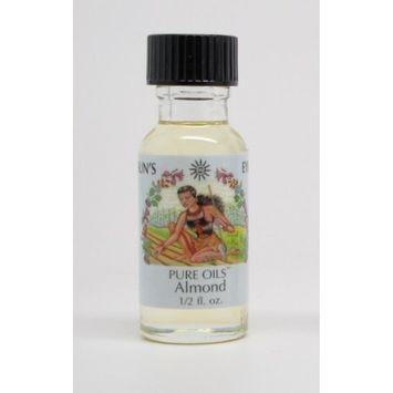 Almond - Sun's Eye Pure Oils - 1/2 Ounce Bottle