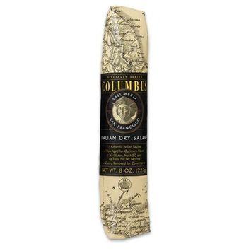 Columbus Salame Company Italian Dry Salame 8 Oz. Paper Wrapped Stick