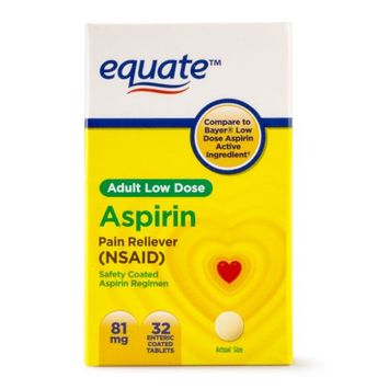 Lnk International Equate Low Dose Aspirin 32 CT